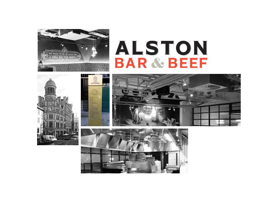 Alston Bar & Beef Restaurant, Manchester Corn Exchange